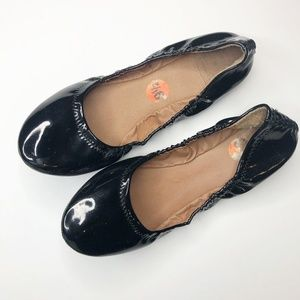 lucky brand | emmie flats black patent